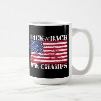 Campeones de la guerra mundial taza
