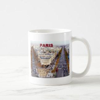 Campeones de París Francia Elysees St K Tazas De Café