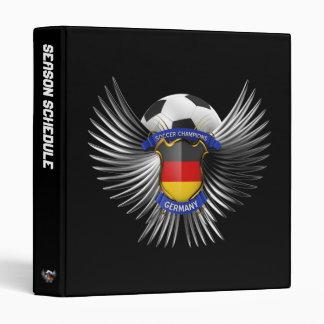 """Campeones del fútbol de Alemania Carpeta 1"""""""