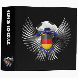 """Campeones del fútbol de Alemania Carpeta 2"""""""
