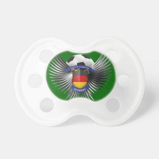 Campeones del fútbol de Alemania Chupetes Para Bebes