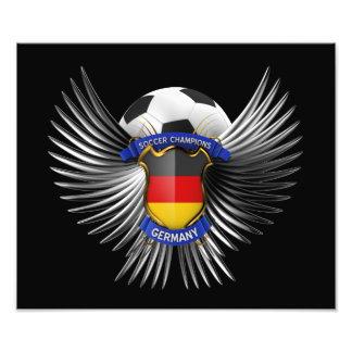 Campeones del fútbol de Alemania Fotografía