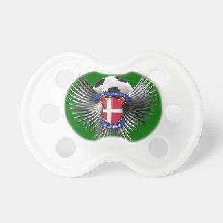 Campeones del fútbol de Dinamarca Chupete De Bebe