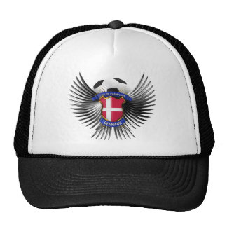 Campeones del fútbol de Dinamarca Gorras De Camionero