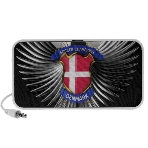 Campeones del fútbol de Dinamarca Mp3 Altavoces
