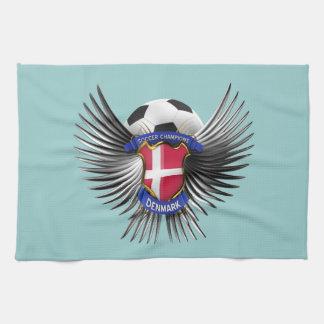 Campeones del fútbol de Dinamarca Toallas