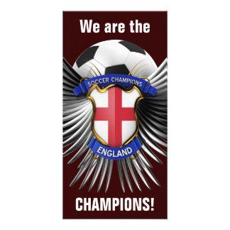 Campeones del fútbol de Inglaterra Tarjetas Personales