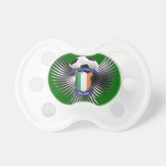 Campeones del fútbol de Irlanda Chupete De Bebé