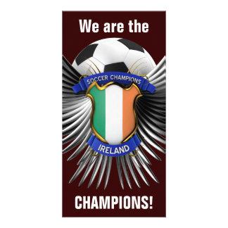 Campeones del fútbol de Irlanda Tarjetas Personales