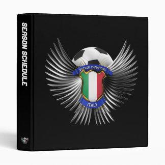 """Campeones del fútbol de Italia Carpeta 1"""""""
