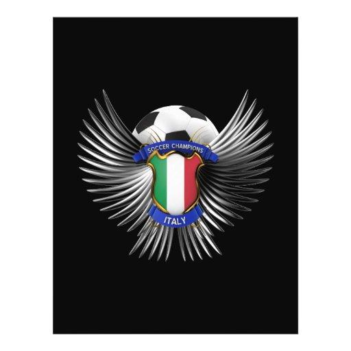 Campeones del fútbol de Italia Tarjetones