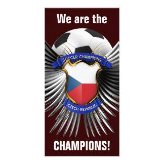 Campeones del fútbol de la República Checa Tarjetas Personales