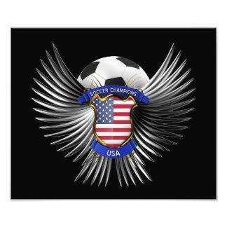 Campeones del fútbol de los E.E.U.U. Cojinete