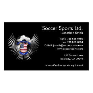 Campeones del fútbol de los E.E.U.U. Tarjetas De Negocios