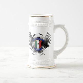 Campeones del fútbol de México Jarra De Cerveza