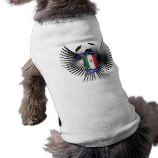 Campeones del fútbol de México Playera Sin Mangas Para Perro