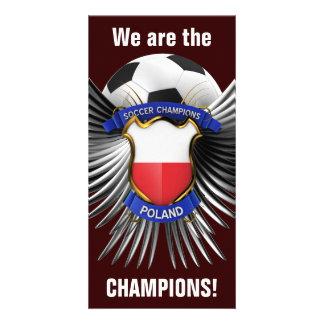 Campeones del fútbol de Polonia Tarjetas Personales