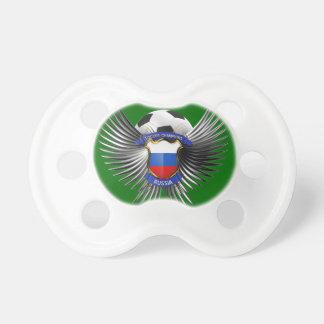Campeones del fútbol de Rusia Chupete De Bebe