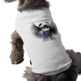 Campeones del fútbol de Rusia Playera Sin Mangas Para Perro