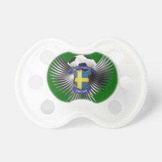 Campeones del fútbol de Suecia Chupetes