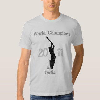 Campeones del grillo de la India Playeras