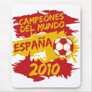 Campeones del Mundo 2010 Mouse Pad