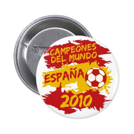 Campeones del Mundo 2010 Pins