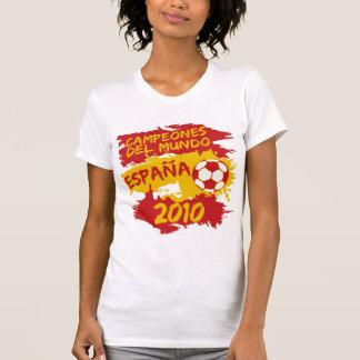 Campeones del Mundo 2010 T Shirts