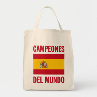 CAMPEONES DEL MUNDO TOTE BAG