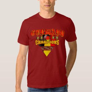 Campeones del mundo de Alemania Poleras