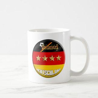 Campeones del mundo de Weltmeister Deutschland Ale Tazas De Café