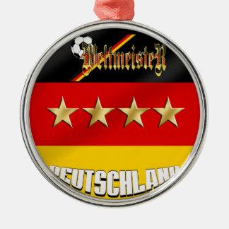 Campeones del mundo de Weltmeister Deutschland Ornaments Para Arbol De Navidad