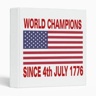 """Campeones del mundo desde 1776 carpeta 1"""""""