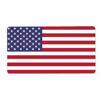 Campeones del mundo desde 1776 etiquetas de envío