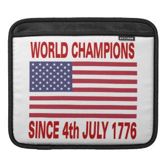 Campeones del mundo desde 1776 manga de iPad