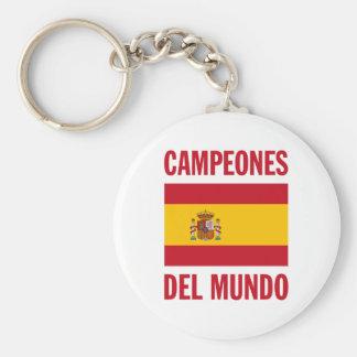CAMPEONES DEL MUNDO LLAVERO REDONDO TIPO PIN