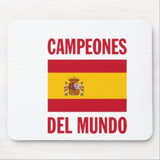 CAMPEONES DEL MUNDO MOUSE PAD