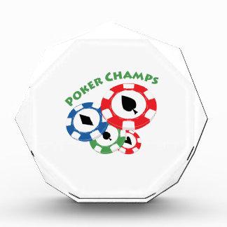 Campeones del póker