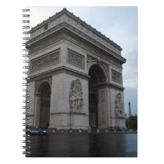 Campeones-Élysées - París, Francia Libros De Apuntes