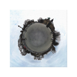 Campeones Elysees - polar expuesto Impresión En Lienzo Estirada