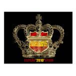 Campeones españoles 2010 de los reyes mundo del postal