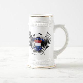 Campeones holandeses del fútbol tazas de café