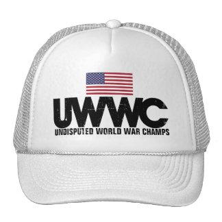 Campeones indiscutibles de la guerra mundial gorra