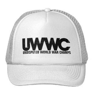 Campeones indiscutibles de la guerra mundial gorros