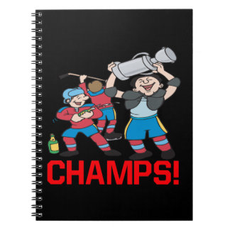 Campeones Libro De Apuntes