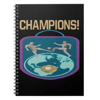 Campeones Libros De Apuntes