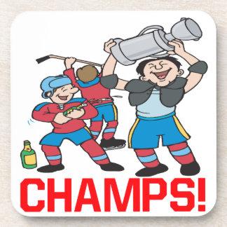 Campeones Posavasos De Bebidas