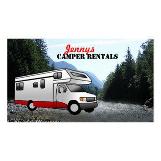 Camper Business Cards