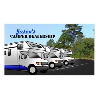 Camper Dealership Business Cards