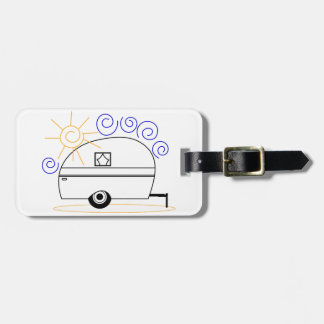 Camper Luggage Tag